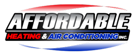 Affordable Heating & Air Conditioning Logo